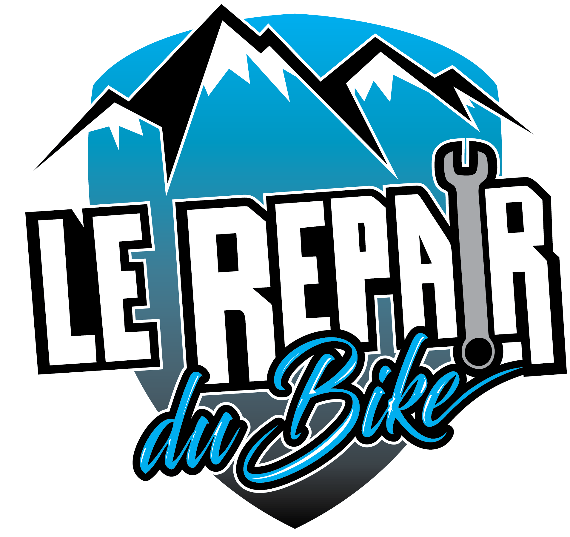 Logo LE REPAIR Montagne V8